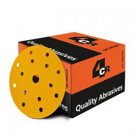 Sanding Disc Gold - Velcro - 15 Hole