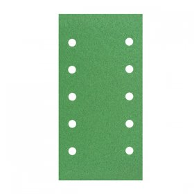 Qbrands Green vib paper - Velcro 10 Hole